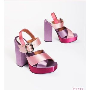 JEFFREY CAMPBELL FOR FREE PEOPLE DAZED PLATS!